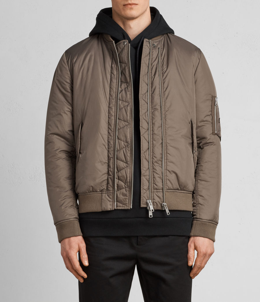 Hombres Cazadora bomber Lombard (taupe_brown) - Image 2