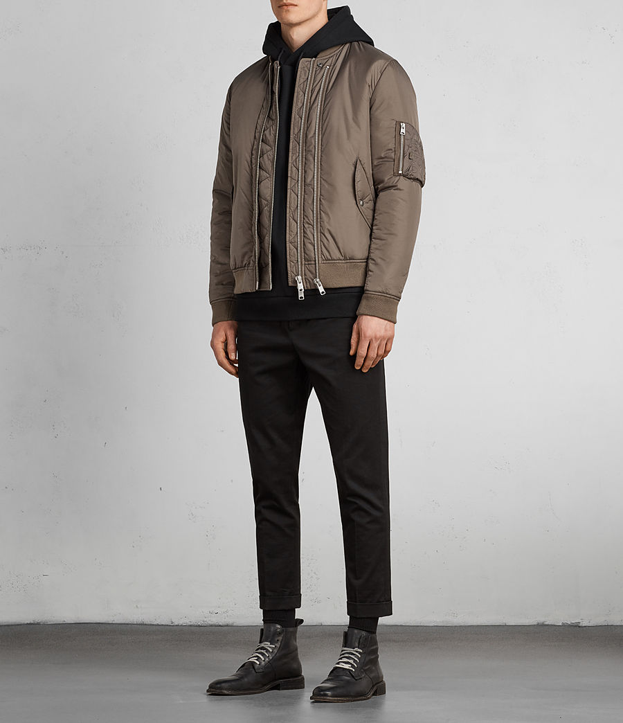 Hombres Cazadora bomber Lombard (taupe_brown) - Image 3