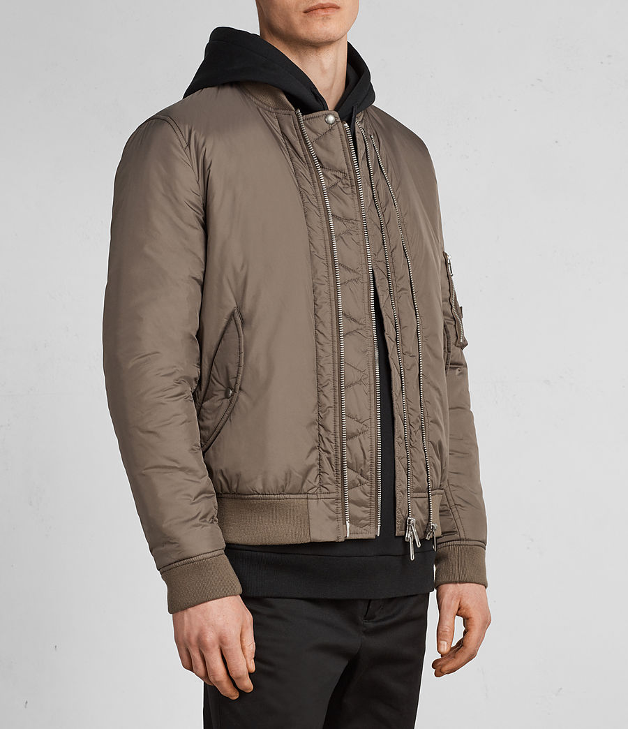 Hombres Cazadora bomber Lombard (taupe_brown) - Image 4