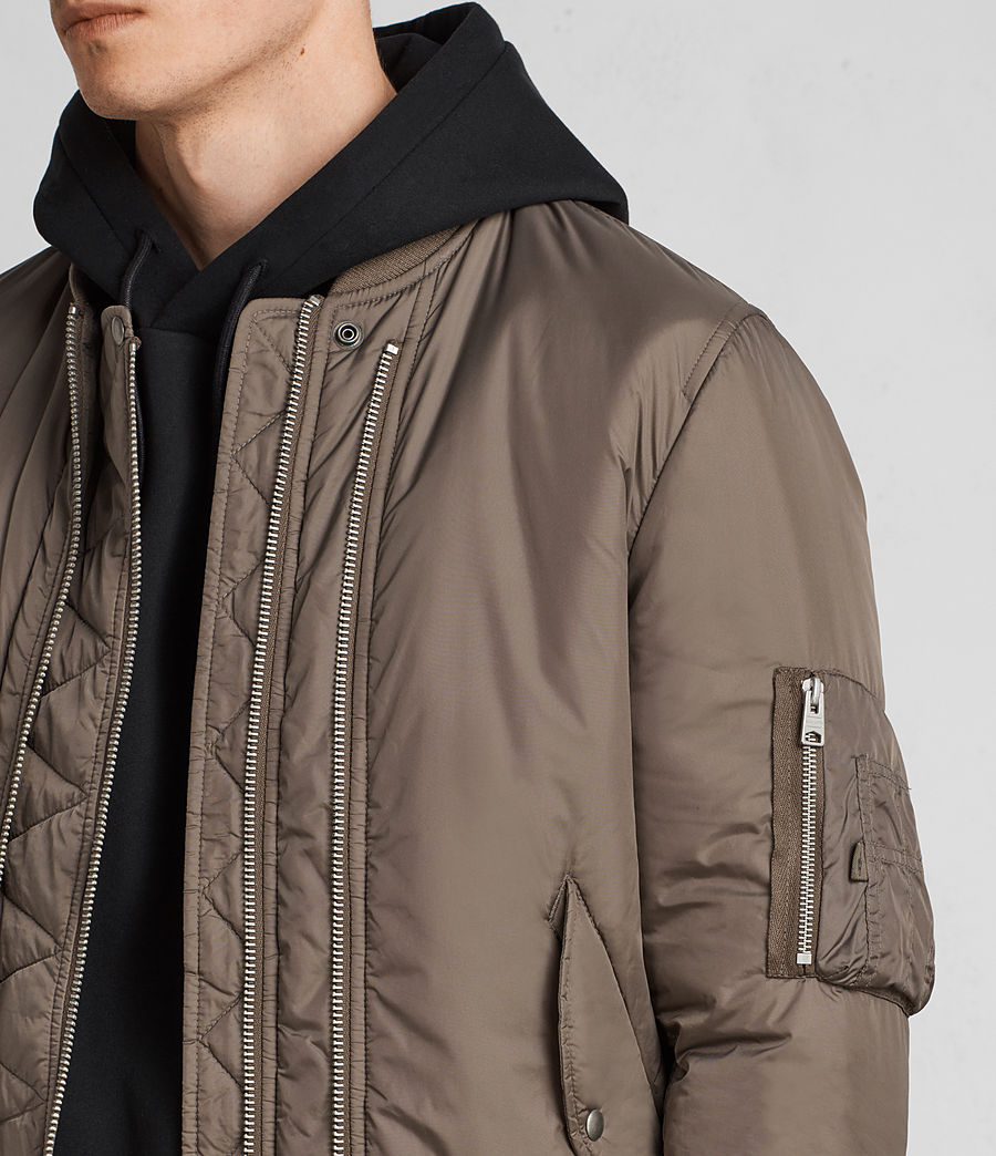 Hombres Cazadora bomber Lombard (taupe_brown) - Image 5