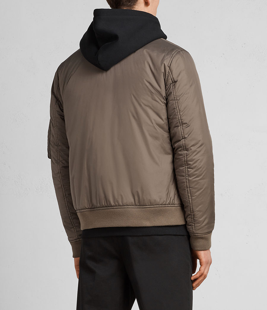 Hombres Cazadora bomber Lombard (taupe_brown) - Image 6