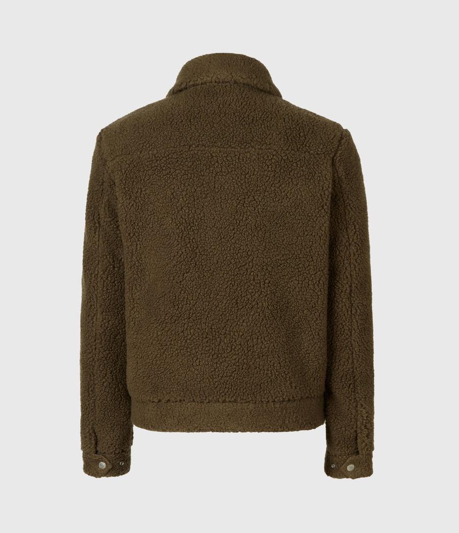 Mens Bevin Sherpa Jacket (ensign_green) - Image 3