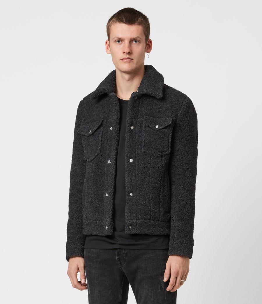 Men's Bevin Sherpa Jacket (soot_black_marl) - Image 1
