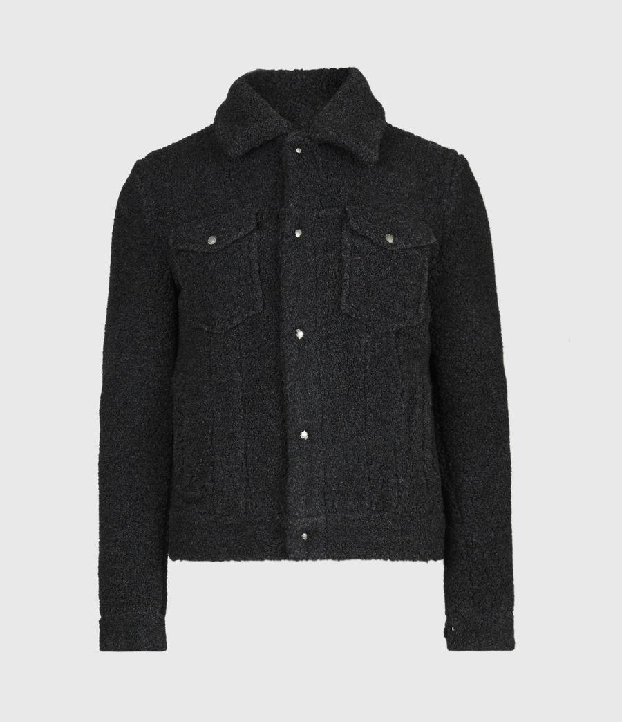 Men's Bevin Sherpa Jacket (soot_black_marl) - Image 2
