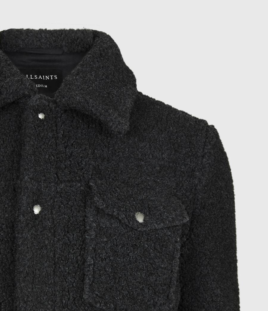 Men's Bevin Sherpa Jacket (soot_black_marl) - Image 4