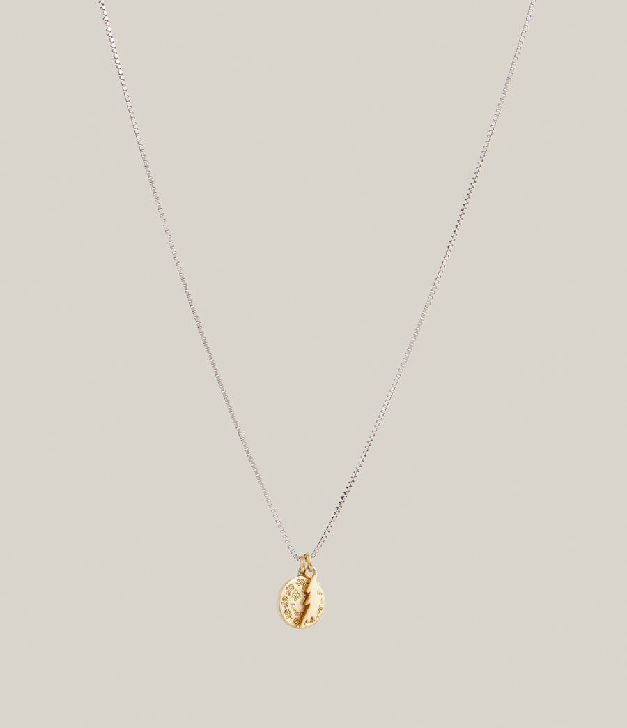 Hommes Enzo Necklace (warm_silver_brass) - Image 3