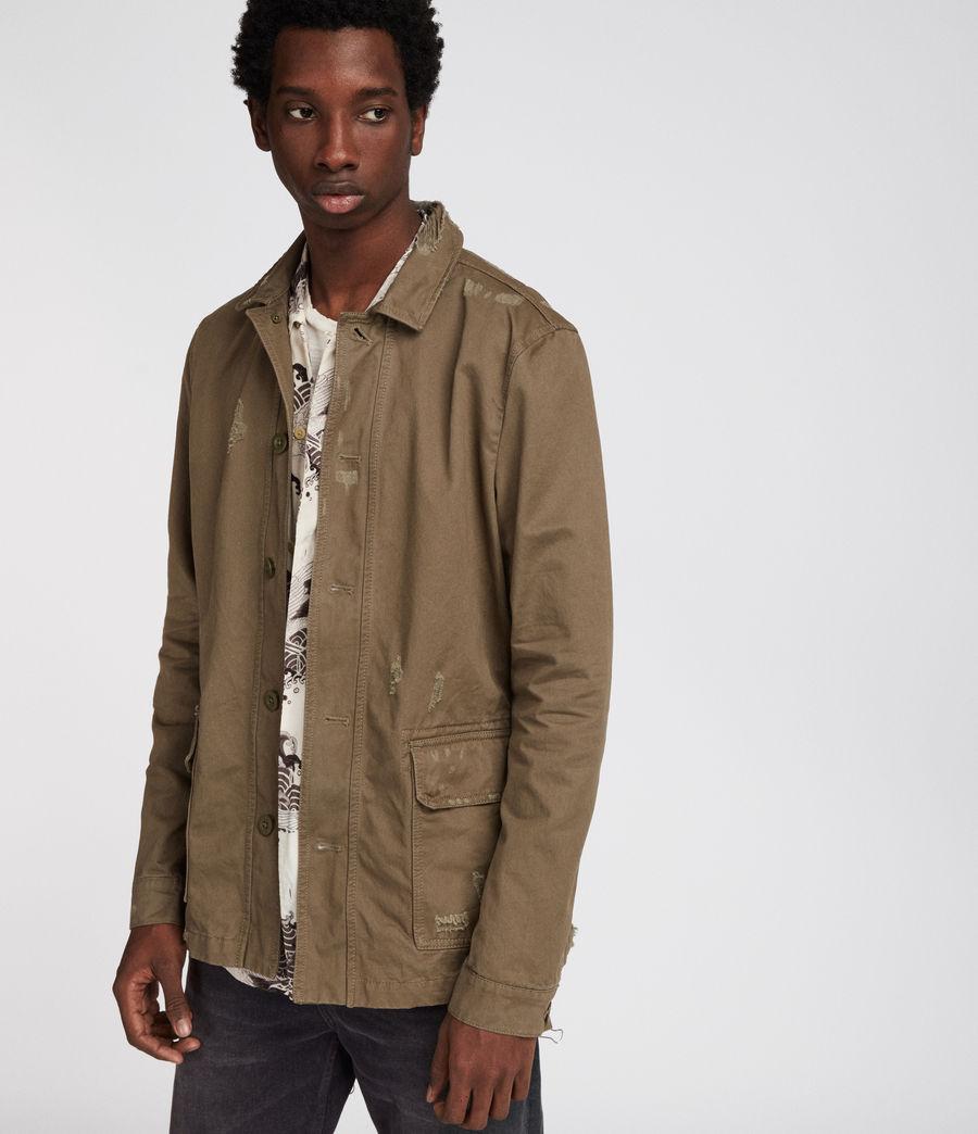 Mens Sasaki Jacket (khaki_green) - Image 1