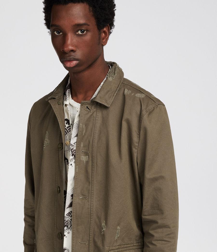 Mens Sasaki Jacket (khaki_green) - Image 2