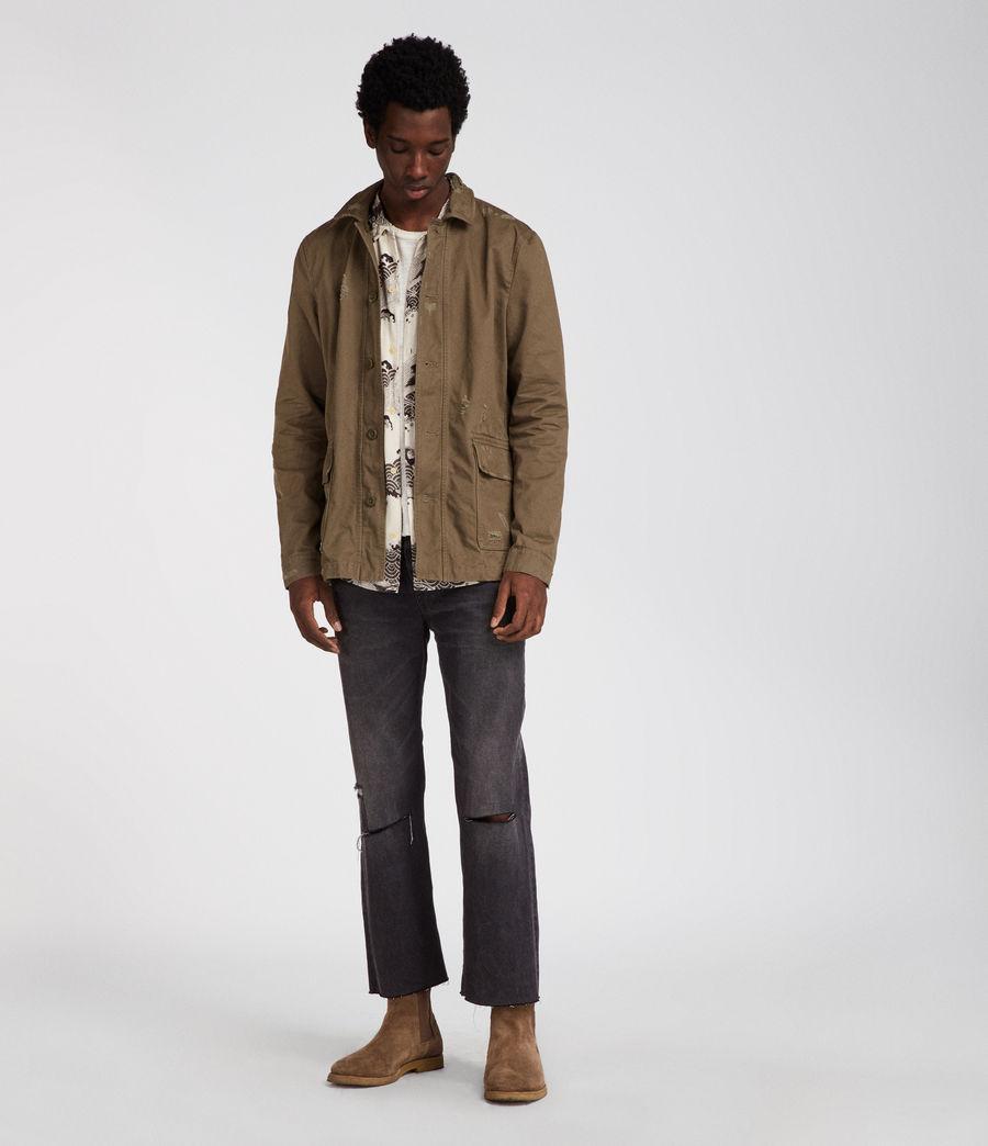 Mens Sasaki Jacket (khaki_green) - Image 3