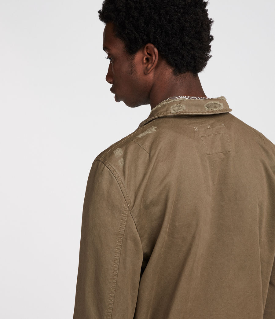 Mens Sasaki Jacket (khaki_green) - Image 5
