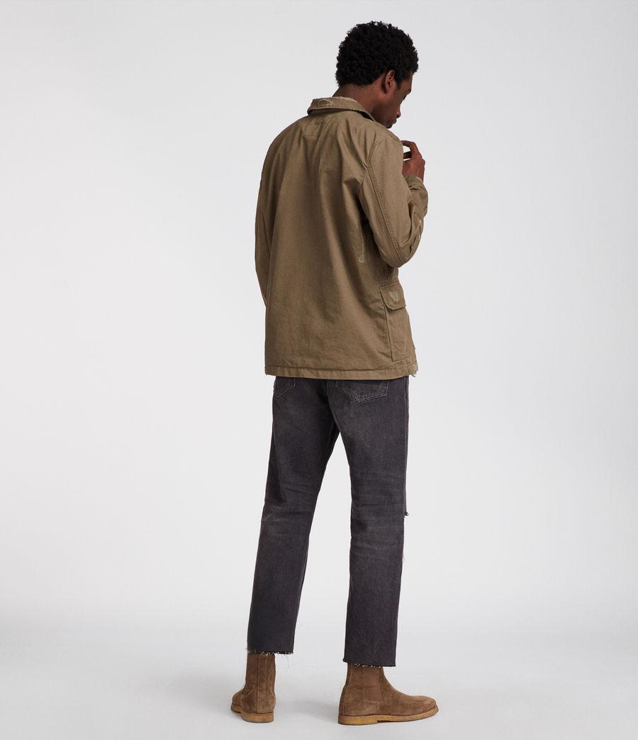 Mens Sasaki Jacket (khaki_green) - Image 6