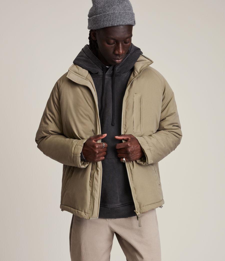 Mens Viot Puffer Jacket (sage_green) - Image 1