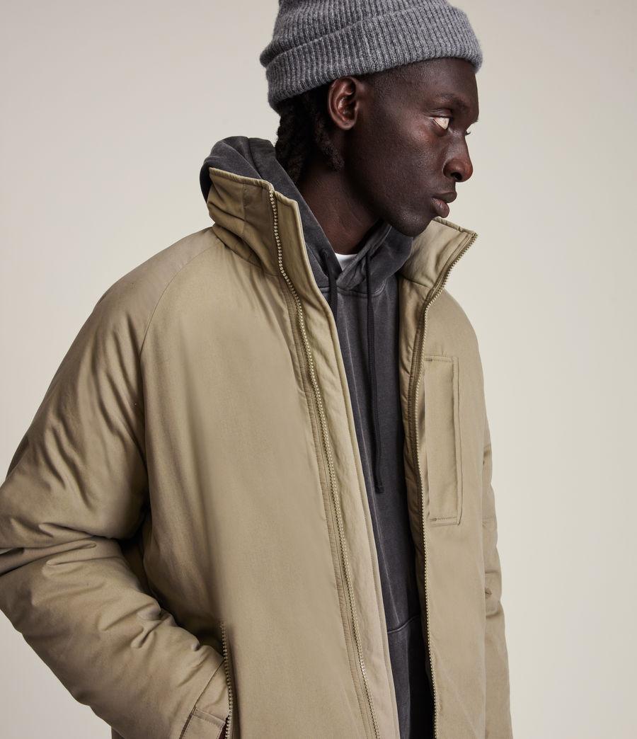 Mens Viot Puffer Jacket (sage_green) - Image 2