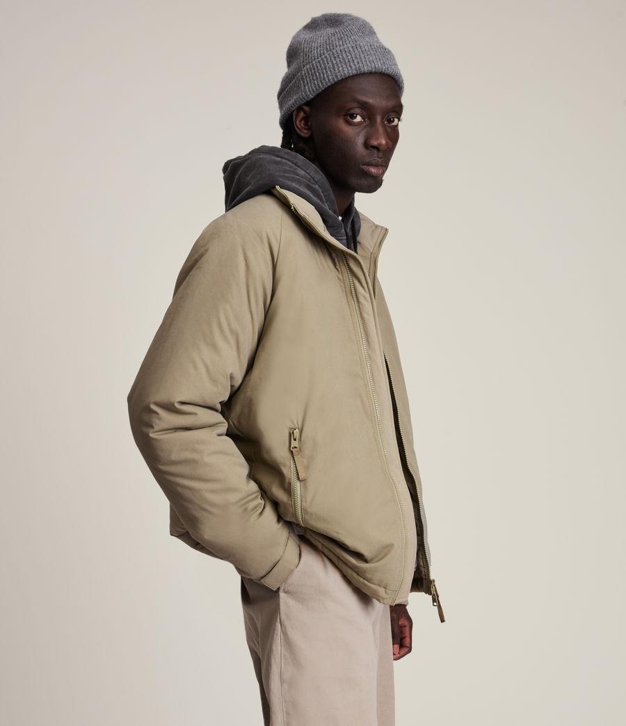 Mens Viot Puffer Jacket (sage_green) - Image 3