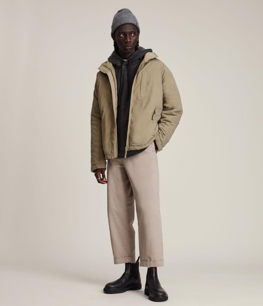 Mens Viot Puffer Jacket (sage_green) - Image 4