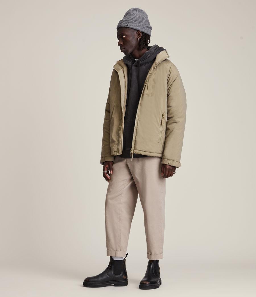 Mens Viot Puffer Jacket (sage_green) - Image 5