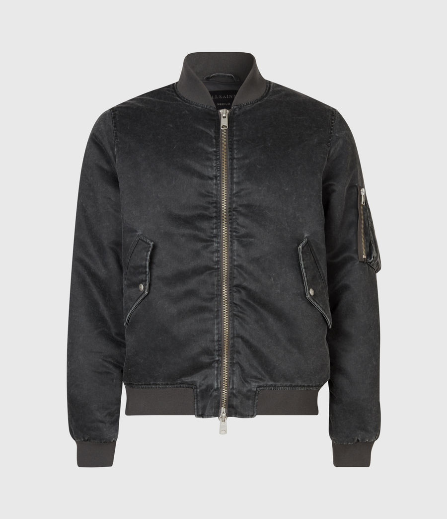 Mens Sirius Bomber Jacket (black) - Image 2