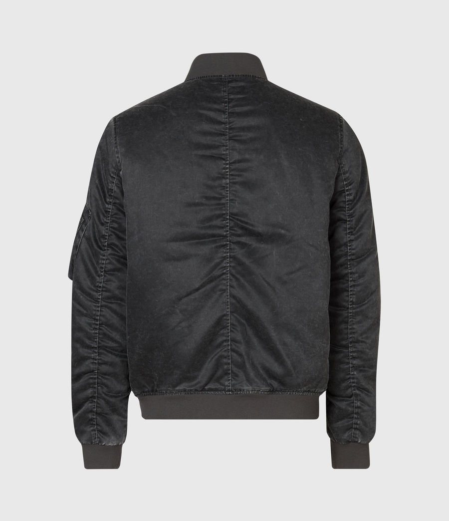 Mens Sirius Bomber Jacket (black) - Image 3