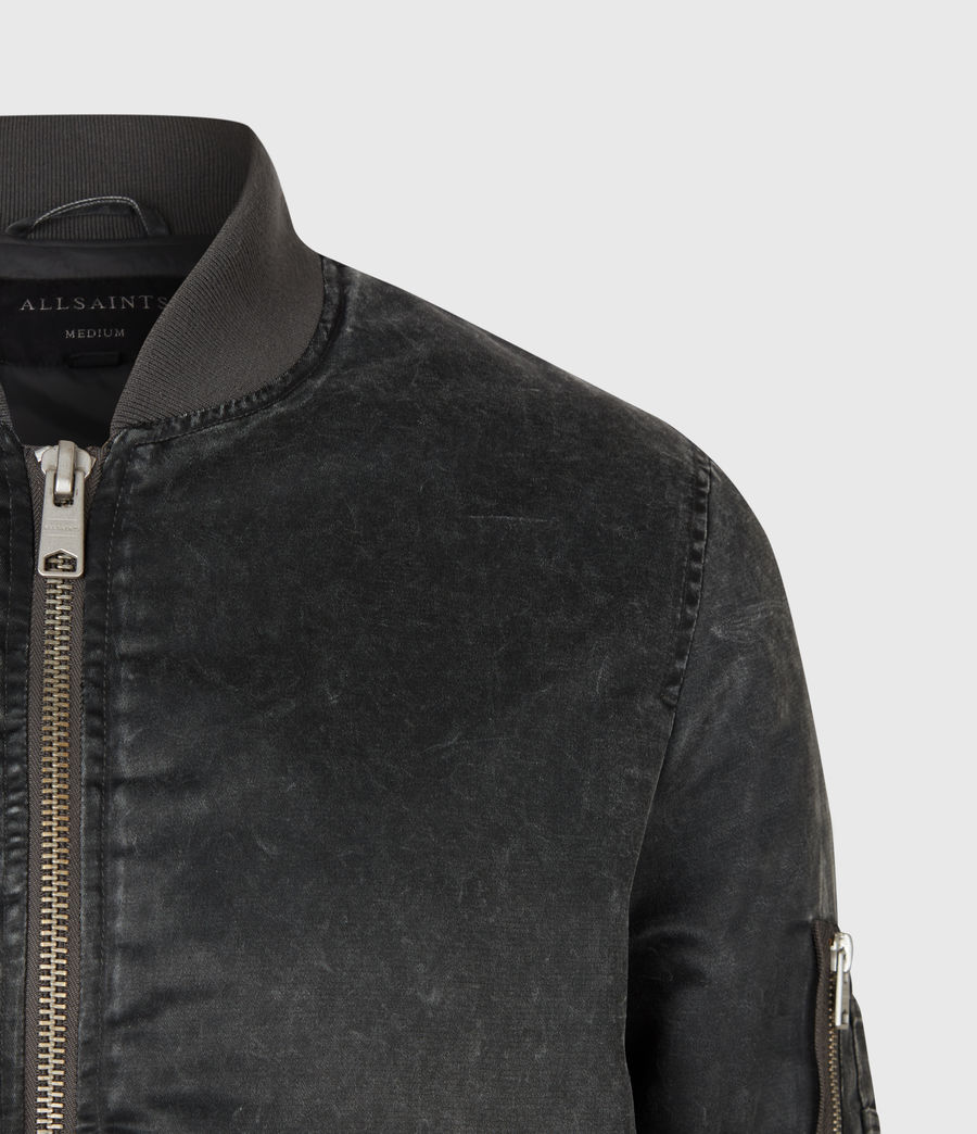 Mens Sirius Bomber Jacket (black) - Image 5