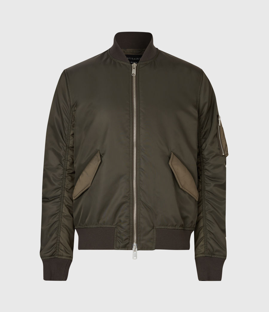 Mens Regulus Bomber Jacket (khaki_green) - Image 2