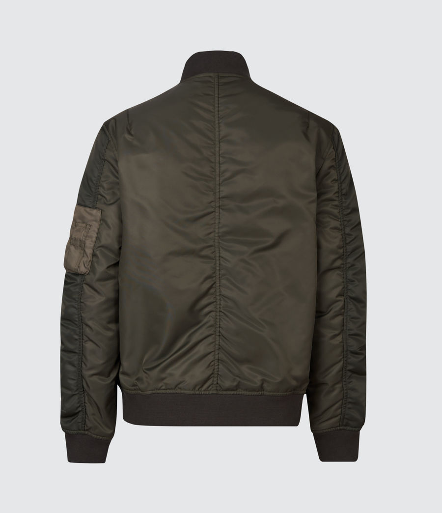Mens Regulus Bomber Jacket (khaki_green) - Image 3