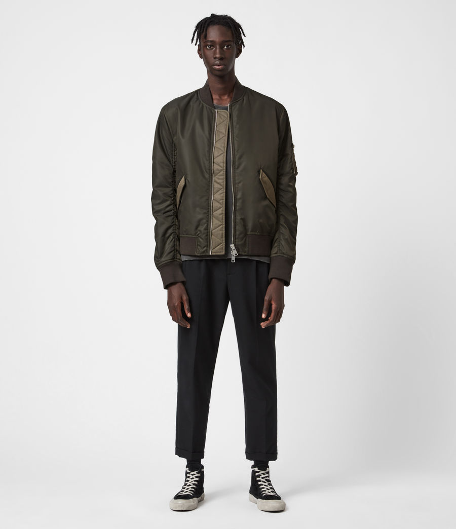Mens Regulus Bomber Jacket (khaki_green) - Image 4