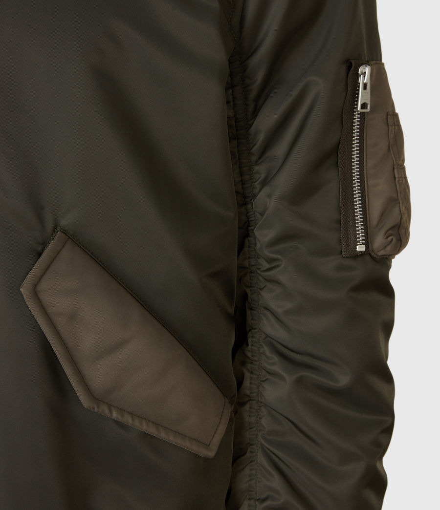 Mens Regulus Bomber Jacket (khaki_green) - Image 6