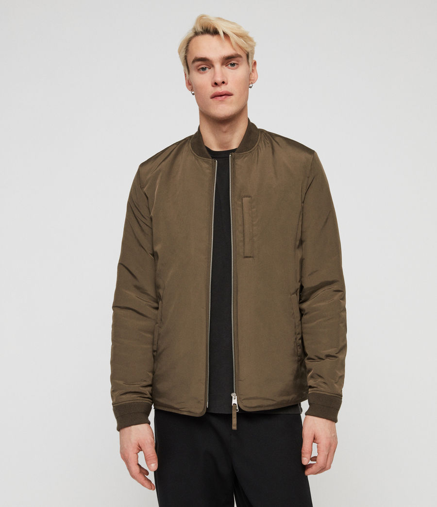 Men's Coot Bomber Jacket (khaki_brown) - Image 1