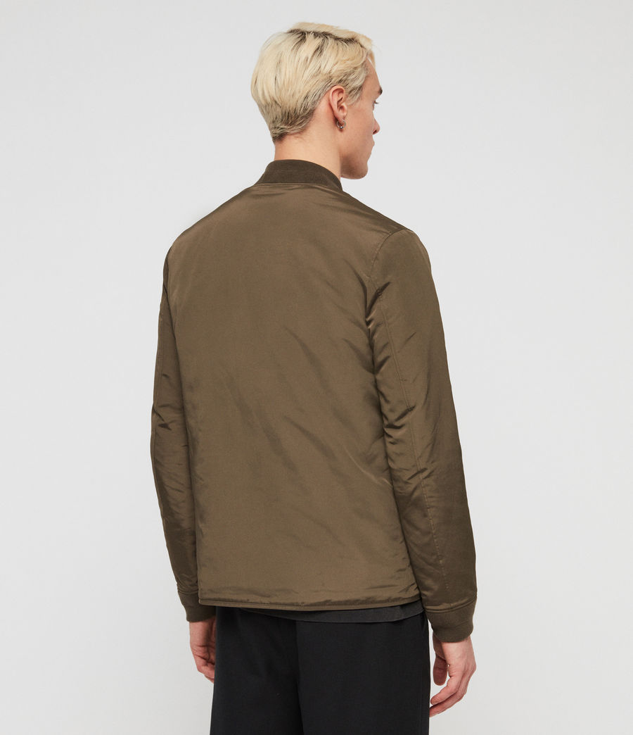 Men's Coot Bomber Jacket (khaki_brown) - Image 5