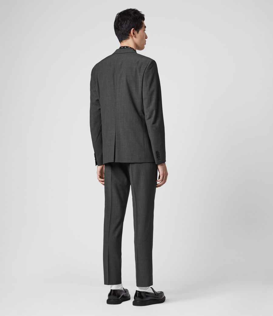 Men's Cleaver Blazer (dark_grey_marl) - Image 6