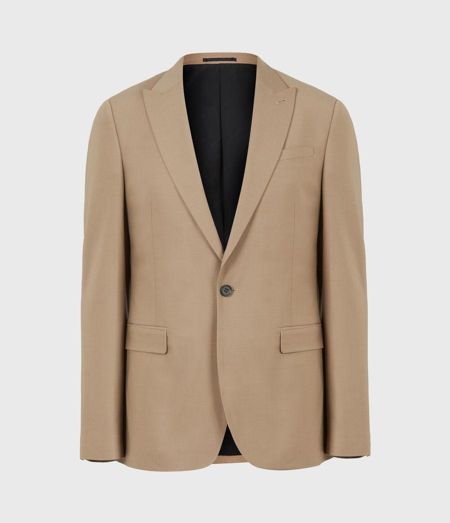 Herren Cleaver Wool Blend Blazer (caenstone_brown) - Image 2