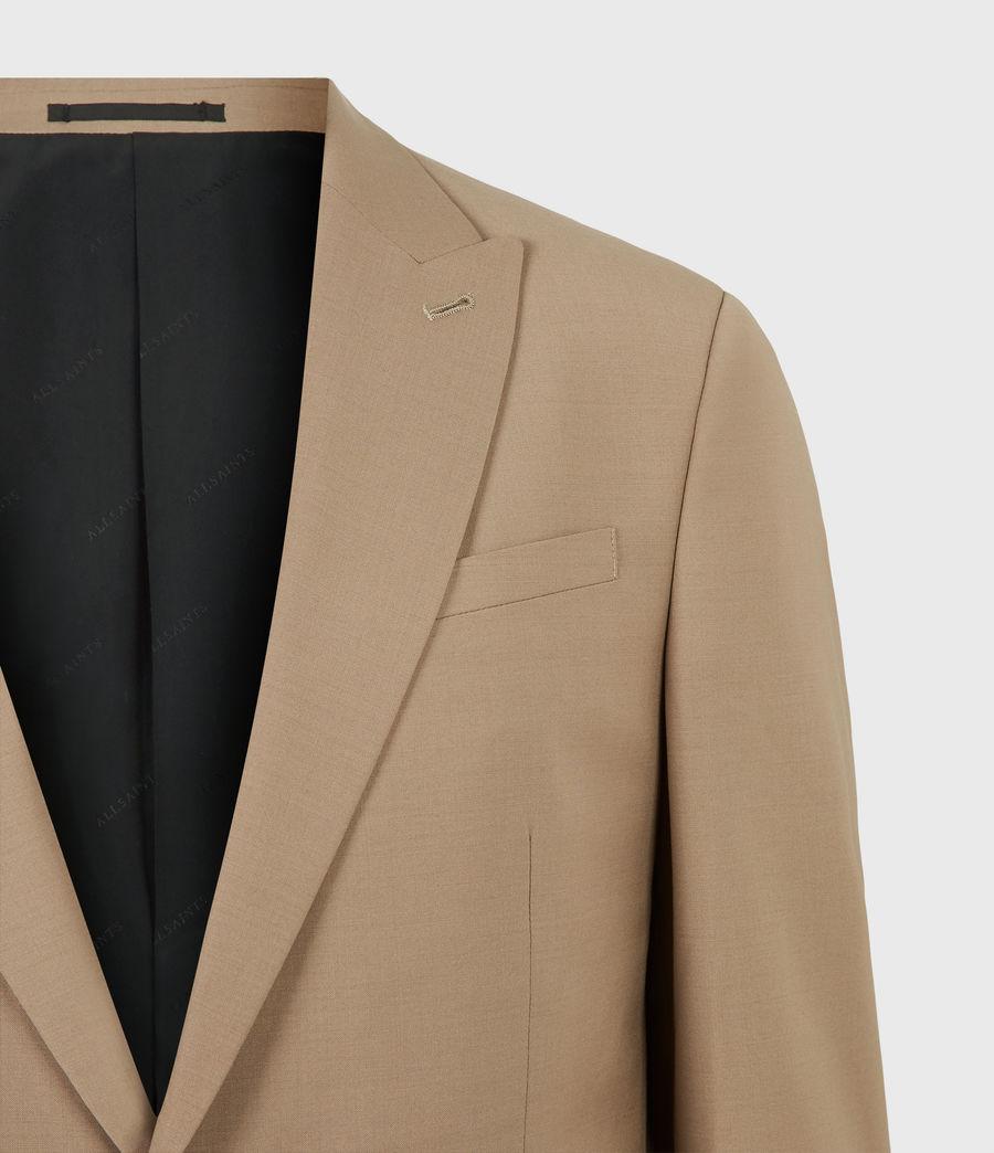 Herren Cleaver Wool Blend Blazer (caenstone_brown) - Image 5