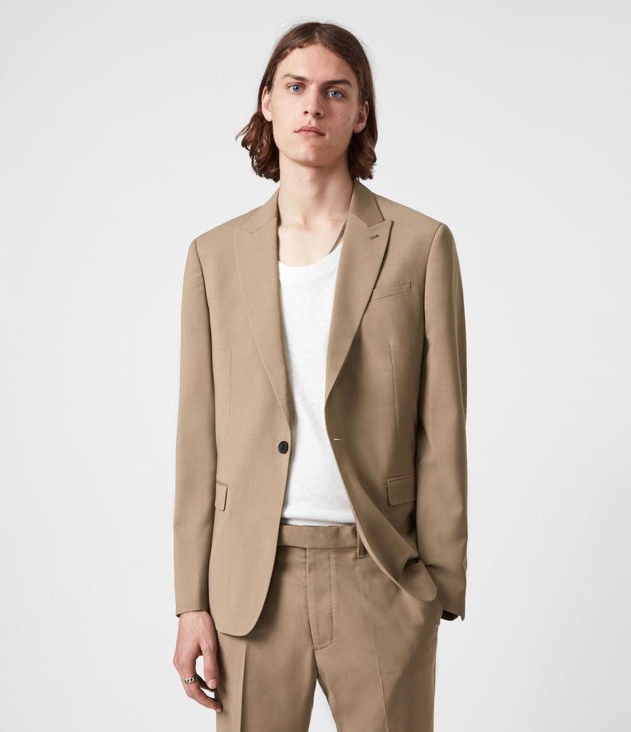 Herren Cleaver Wool Blend Blazer (caenstone_brown) - Image 6