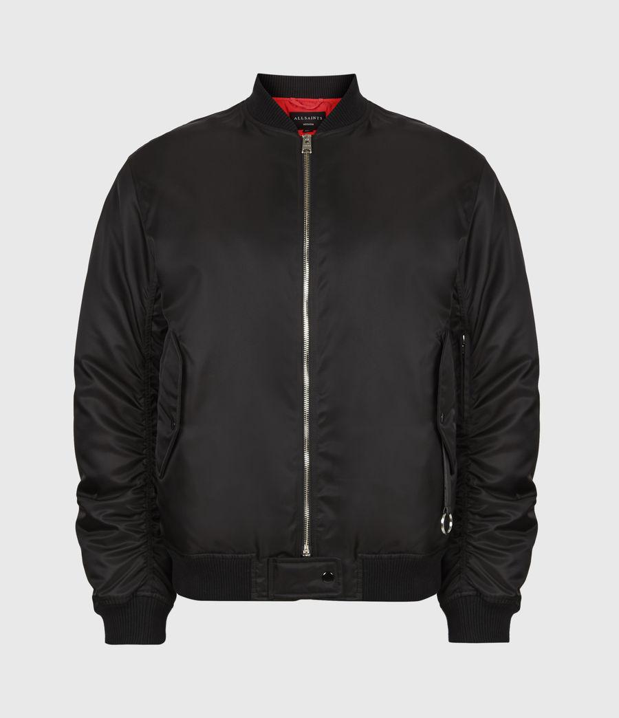 Men's Axel Bomber Jacket (black) - Image 2