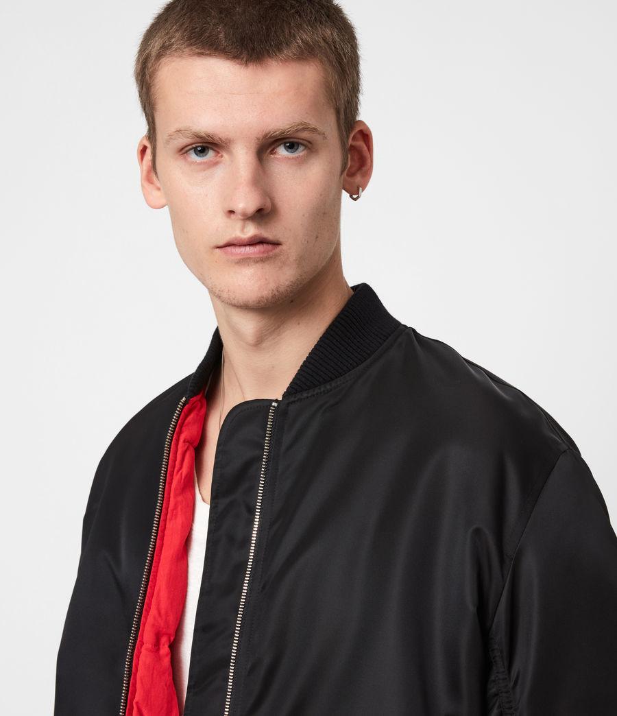 Men's Axel Bomber Jacket (black) - Image 4