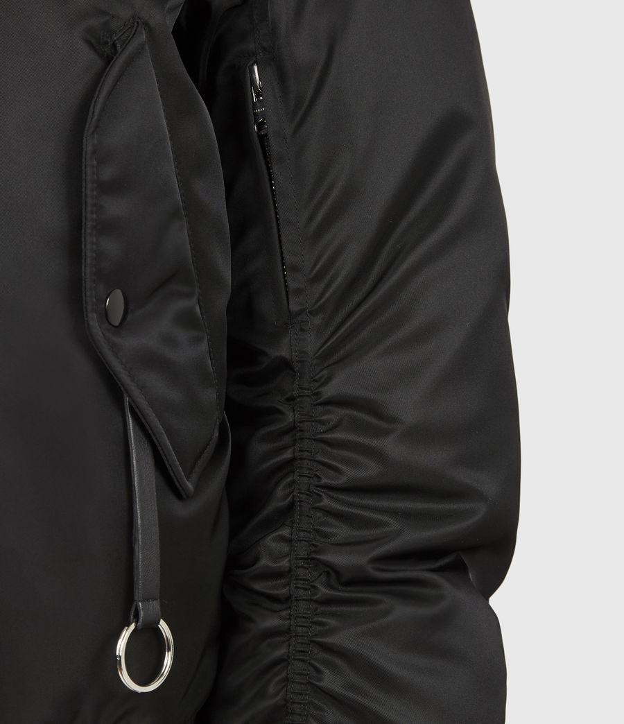 Men's Axel Bomber Jacket (black) - Image 5