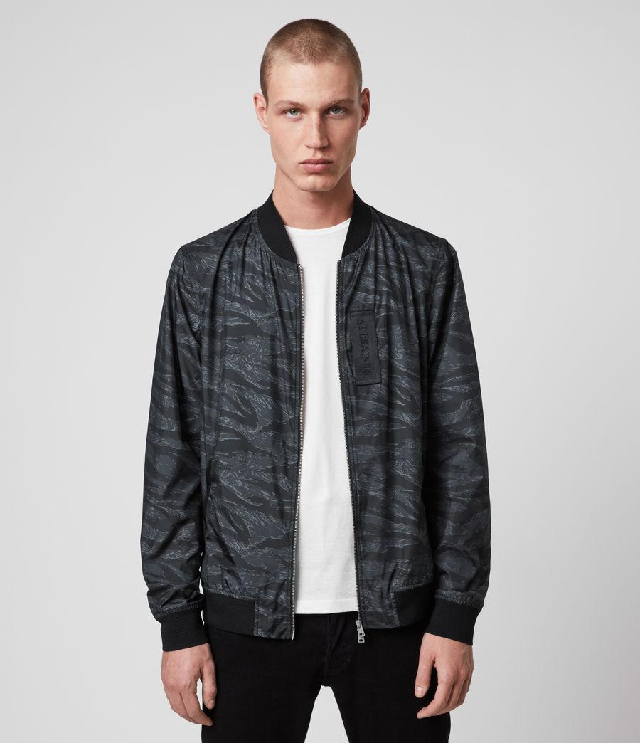 Hombre Morton Bomber Jacket (washed_black_camo) - Image 1