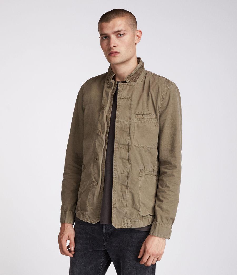 Men's Store Blazer (khaki_green) - Image 1