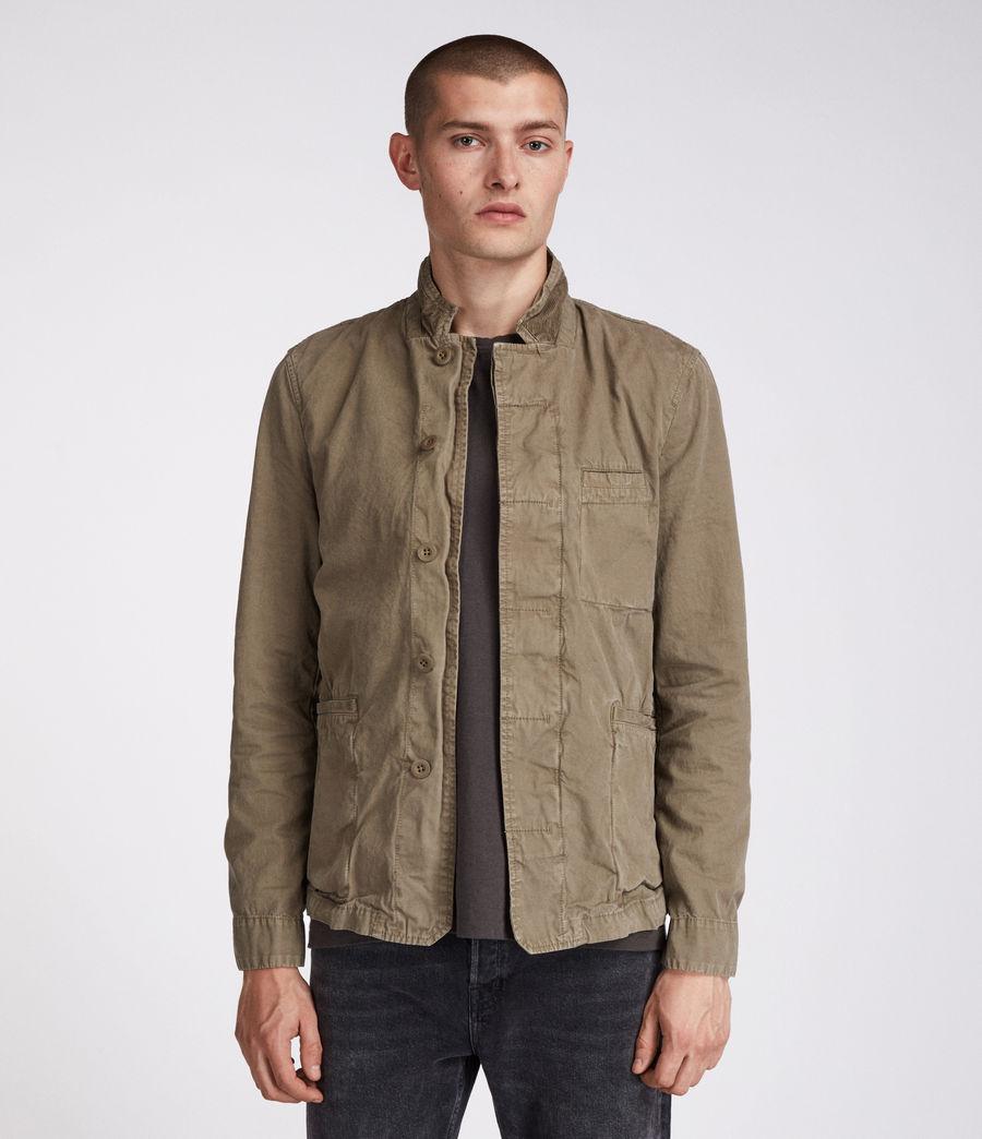 Men's Store Blazer (khaki_green) - Image 3