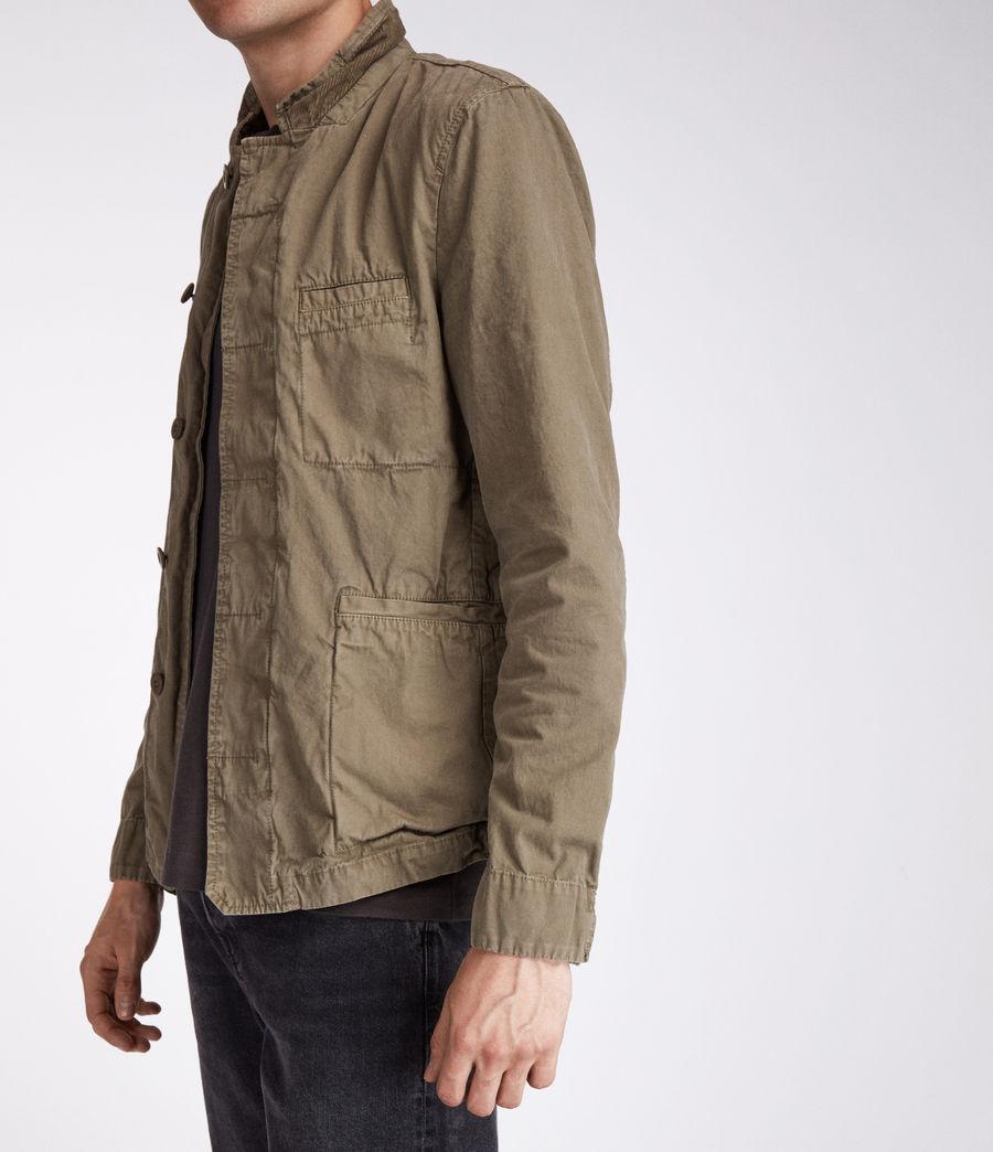 Men's Store Blazer (khaki_green) - Image 4