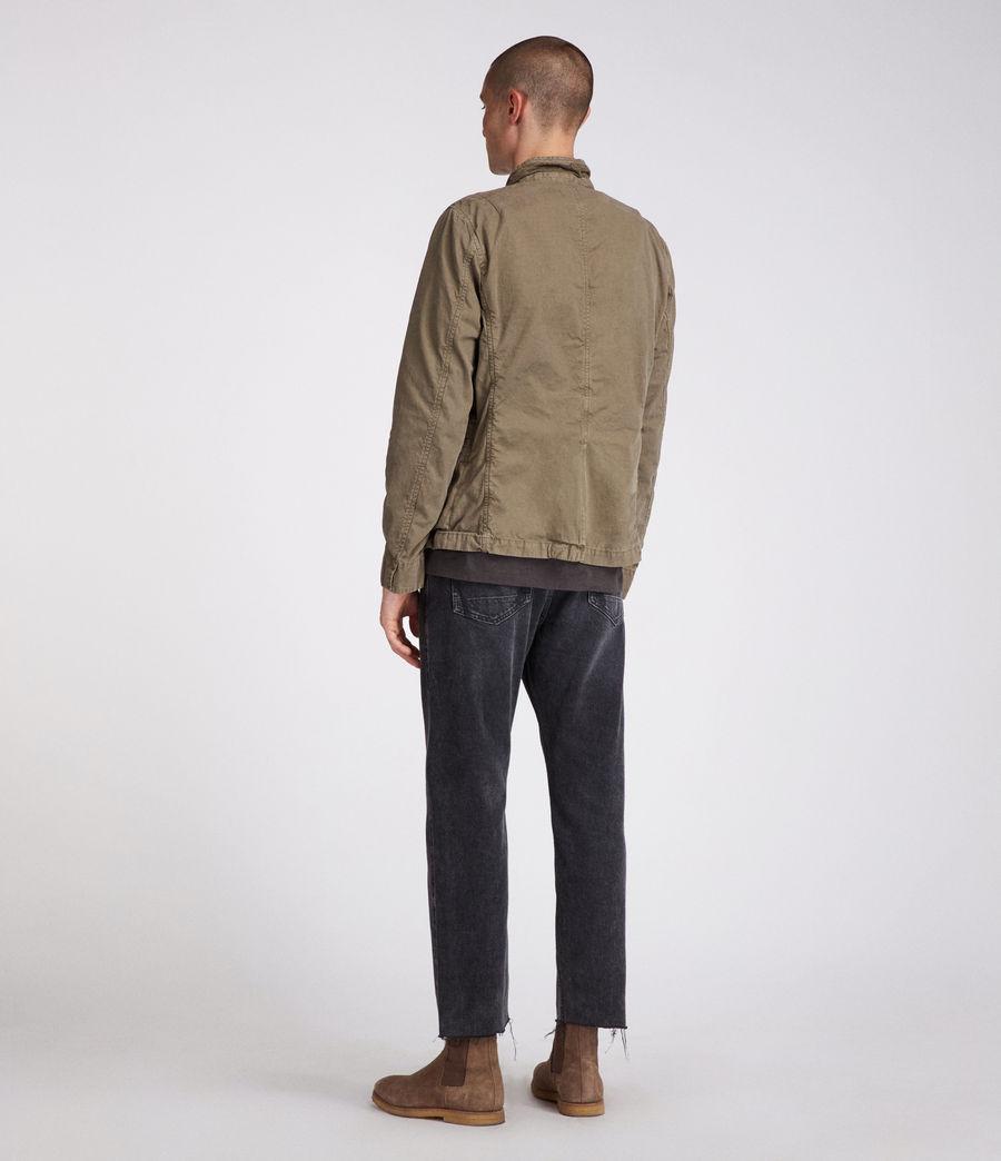 Men's Store Blazer (khaki_green) - Image 6