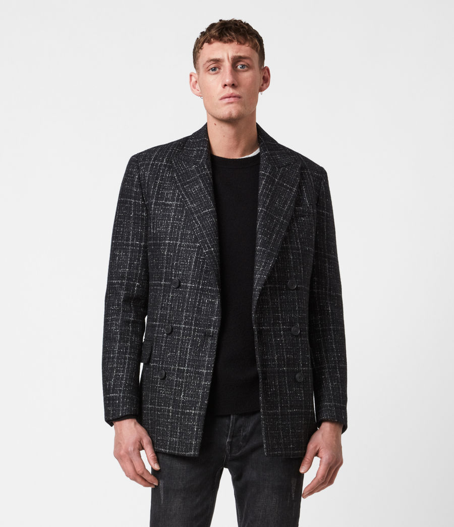 Mens Mercer Blazer (black) - Image 1
