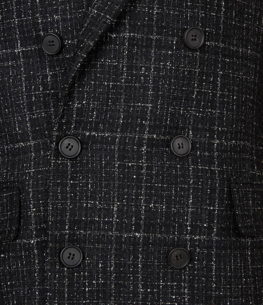Mens Mercer Blazer (black) - Image 6