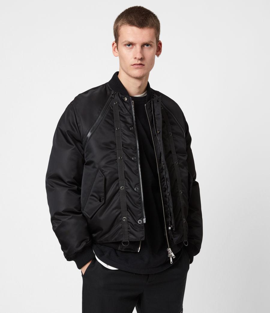 Mens Rada Bomber Jacket (black) - Image 1