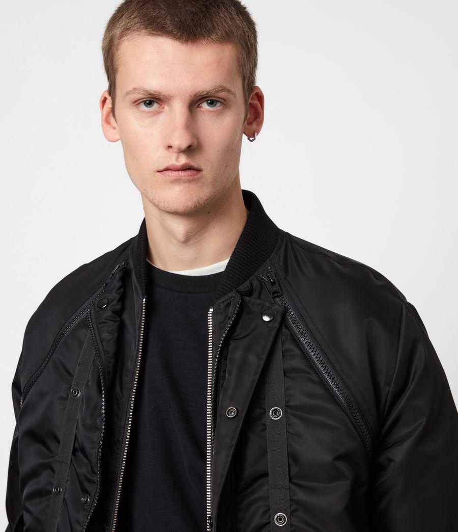 Mens Rada Bomber Jacket (black) - Image 4