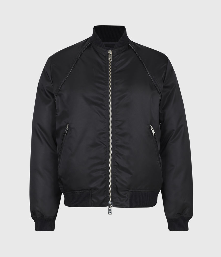Mens Rada Bomber Jacket (black) - Image 5