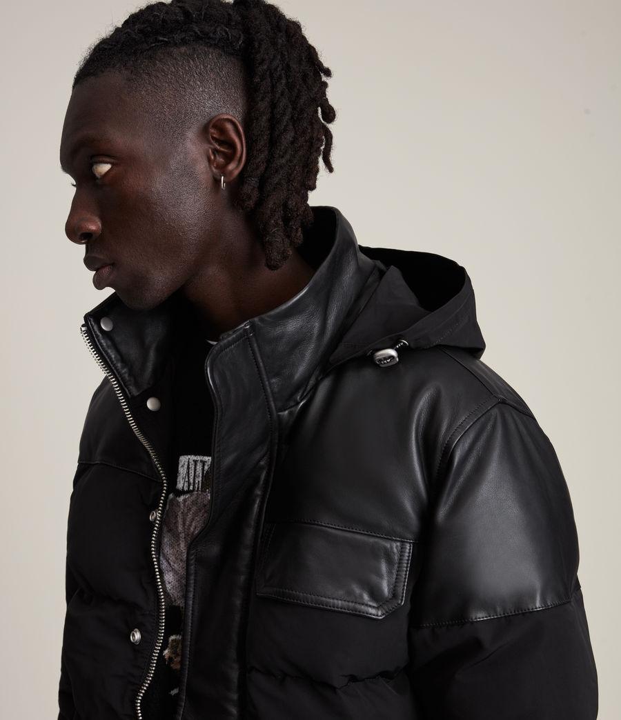 Men's Woodrow Puffer Coat (black) - Image 2