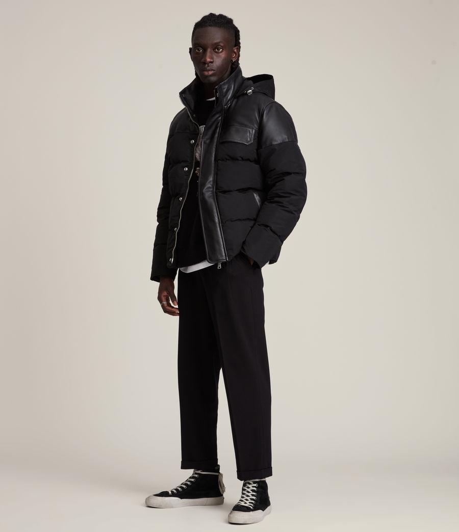 Men's Woodrow Puffer Coat (black) - Image 5