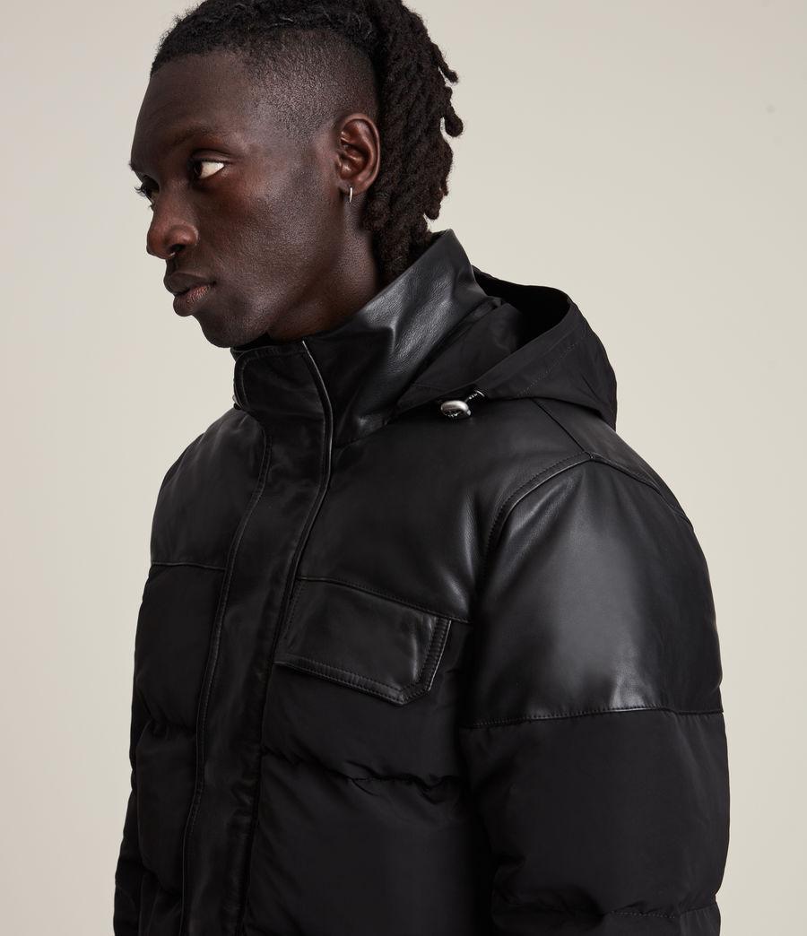 Men's Woodrow Puffer Coat (black) - Image 6
