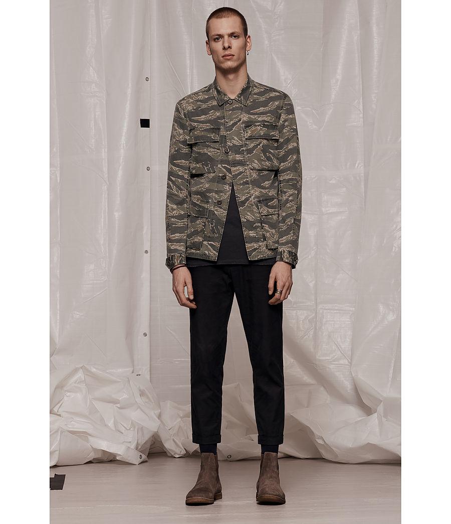 Men's Rosko Jacket (khaki_brown) - Image 7